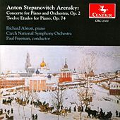 Play & Download Piano Concerto, Op. 2, Twelve Etudes, Op. 74 by Anton Stepanovich Arensky | Napster