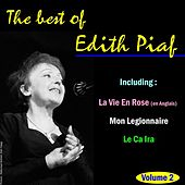 The Best of Edith Piaf, Vol. 2 by Edith Piaf