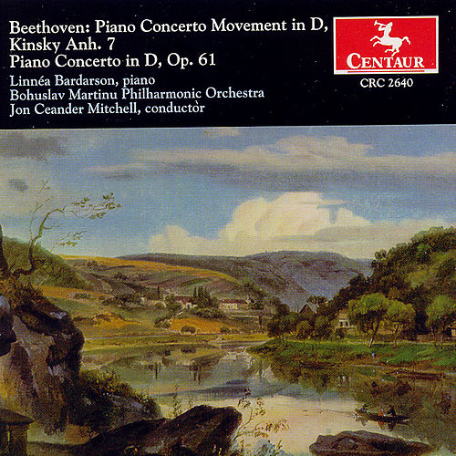 Piano Concerto Movement In D, Piano Concerto In D, Op. 61 by Ludwig van Beethoven