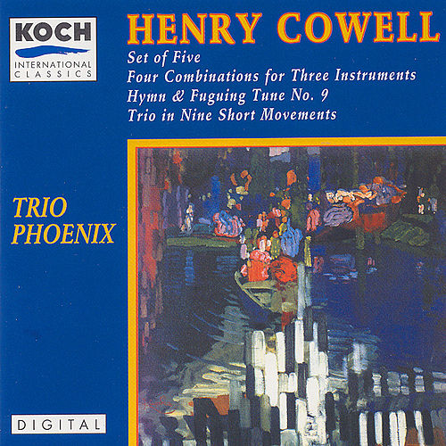 Set of Five, Four Combinations For Three Instruments... by Henry Cowell