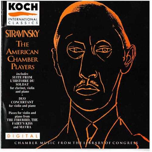 Chamber Music From The Library Of Congress by Igor Stravinsky