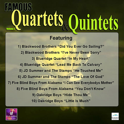 Famous Ouartets and Quintets, Vol. 2 by Various Artists