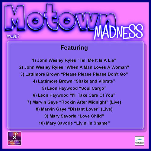 Motown Madness, Vol. 2 by Various Artists