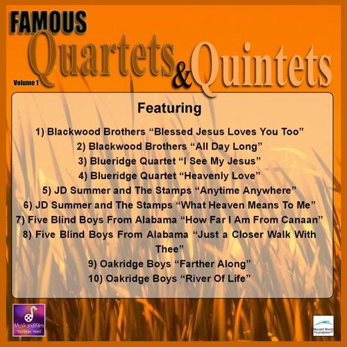 Famous Quartets and Quintets, Vol. 1 by Various Artists