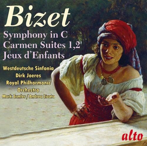 Bizet: Symphony in C; Carmen Suites 1 & 2; Jeux d'Enfants by Various Artists