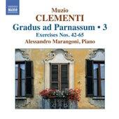 Clementi: Gradus ad Parnassum, Vol. 3 (Nos. 42-65) by Alessandro Marangoni