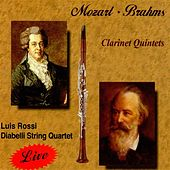 Play & Download Mozart, Brahms Clarinet Quintets by Luis Rossi | Napster