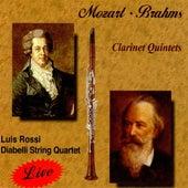 Mozart, Brahms Clarinet Quintets by Luis Rossi