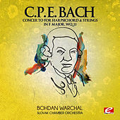 Play & Download C.P.E. Bach: Concerto for Harpsichord & Strings in F Major, Wq.  33 (Digitally Remastered) by Slovak Chamberorchestra | Napster