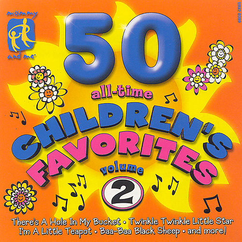 Mommy & Me: 50 All Time Children's Favorites Vol 2 by The Countdown Kids