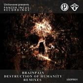 Destruction of Humanity Remixes LP by Brainpain