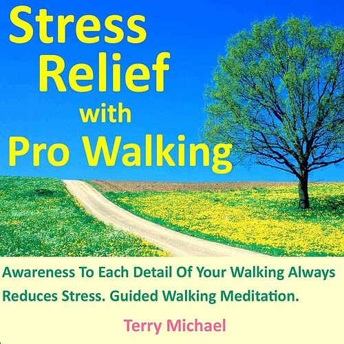 Play & Download Stress Relief With Pro Walking. Awareness to Each Detail of Your Walking Always Reduces Stress. Guided Walking Meditation. by Terry Michael | Napster