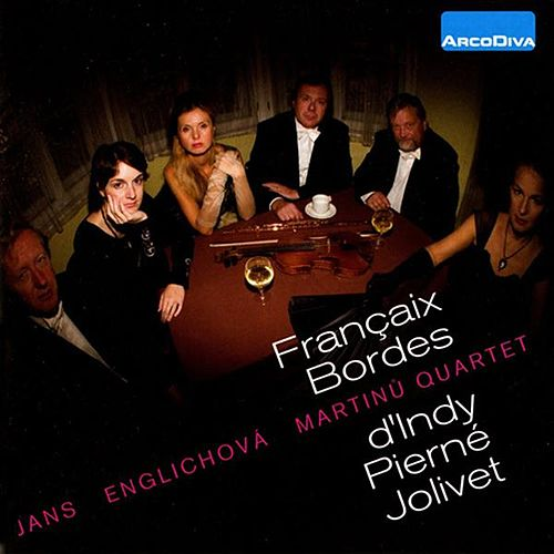 Francaix, Bordes, d'Indy, Pierne & Jolivet by Carlo Jans