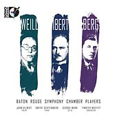 Weill, Ibert, Berg by Various Artists