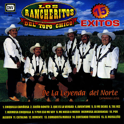 15 Exitos by Los Rancheritos Del Topo Chico