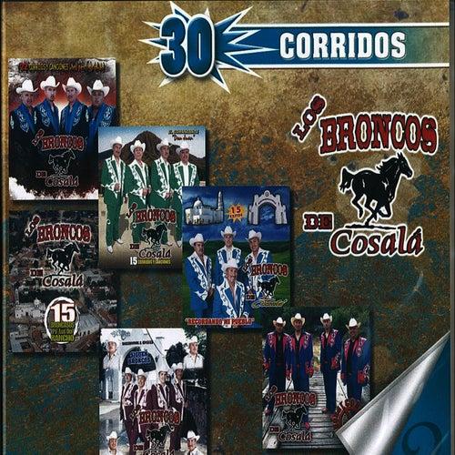 Play & Download 30 Corridos by Los Broncos De Cosala | Napster