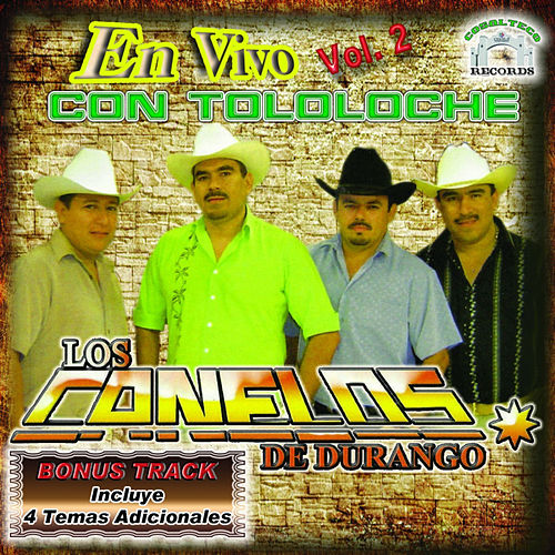 Play & Download Con Tololoche En Vivo 2 by Los Canelos De Durango | Napster