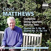 Play & Download Matthews: Complete String Quartets, Vol. 2 by Kreutzer Quartet | Napster