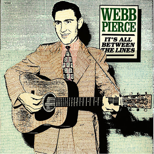 Play & Download It's All Between The Lines by Webb Pierce | Napster
