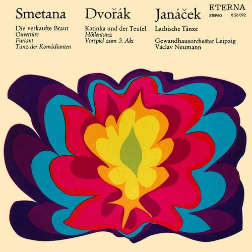 Smetana: The Bartered Bride - Dvorak: Kate and the Devil - Janacek: Lachian Dances by Gewandhausorchester Leipzig