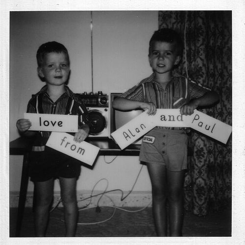 Love from Alan and Paul by Shadow Dancer