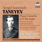 Play & Download Taneyev: Piano Music by Various Artists | Napster