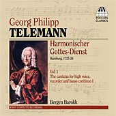 Telemann: Harmonischer Gottes-Dienst, Vol. 1 by Bergen Baroque