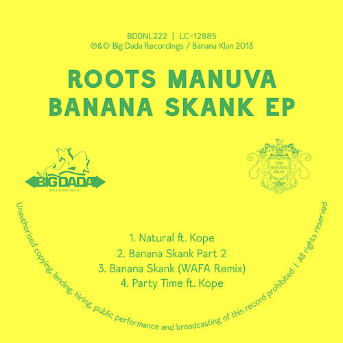 Play & Download Banana Skank EP by Roots Manuva | Napster