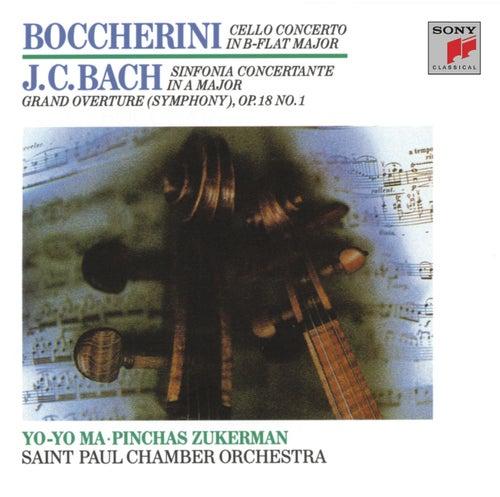 Play & Download Boccherini: Cello Concerto; J.C. Bach: Sinfionia Concertante (Remastered) by Yo-Yo Ma | Napster