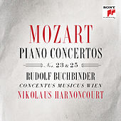 Play & Download Mozart: Piano Concertos Nos. 23 & 25 by Nikolaus Harnoncourt | Napster
