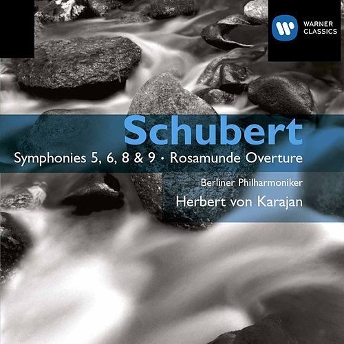 Symphonies 5,6,8 and 9, Rosamunde Overture by Franz Schubert