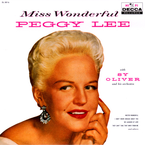 Miss Wonderful by Peggy Lee