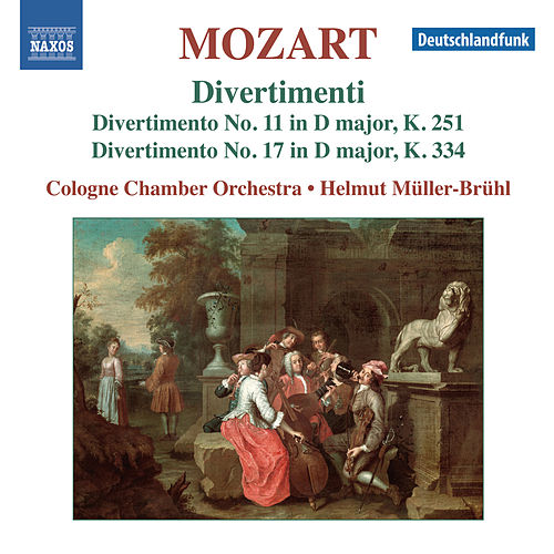 Play & Download Mozart: Divertimenti Nos. 11 & 17 by Cologne Chamber Orchestra | Napster
