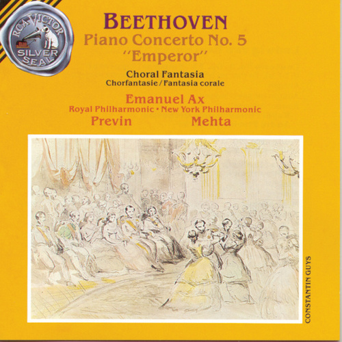 Play & Download Piano Concerto No. 5 by Ludwig van Beethoven | Napster