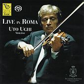 Bach: Live In Roma by Uto Ughi