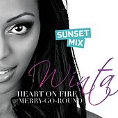 Play & Download Heart On Fire (Merry-Go-Round) - Sunset Mix by Winta | Napster