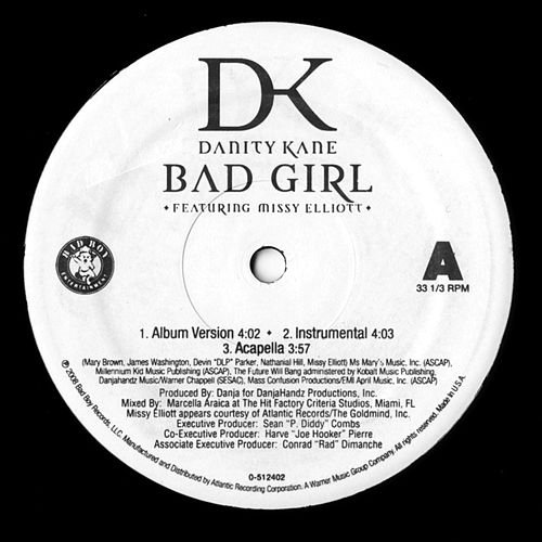 Bad Girl / Damaged by Danity Kane