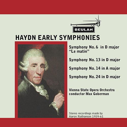 Play & Download Haydn: Early Symphonies by Vienna State Opera Orchestra | Napster