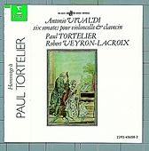 Vivaldi : 6 sonates pour violoncelle Op. XIV by Various Artists