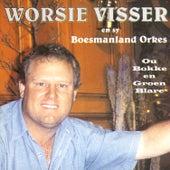 Ou bokke en groen blare by Worsie Visser