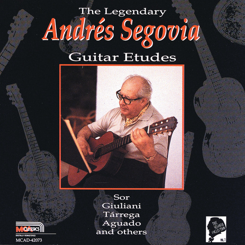 Guitar Etudes - The Segovia Collection, Vol. 7 by Andres Segovia