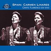 Spain: Carmen Linares Cante Flamenco en Vivo by Carmen Linares