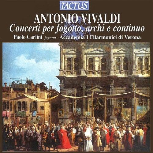Vivaldi: Concerti per fagotto, archi & continuo by Paolo Carlini