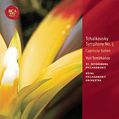 Play & Download Tchaikovsky: Symphony No. 5; Capriccio Italien: Classic Library Series by Yuri Temirkanov | Napster