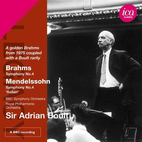 Brahms: Symphony No. 4 - Mendelssohn: Symphony No. 4, 'Italian' by Various Artists