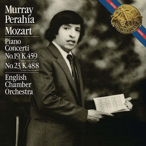 Mozart: Piano Concertos Nos. 19 & 23 by Murray Perahia