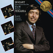 Mozart: Piano Concertos Nos. 15 & 16 by Murray Perahia