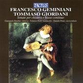 Sonate per chitarra e basso continuo - Geminiani - Giordani by Giampaolo Bandini