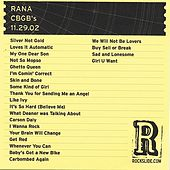 Play & Download CBGB's - NYC, NY - 11.29.02 by RANA | Napster