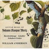 Play & Download Music of Johann Kaspar Mertz by William Anderson | Napster